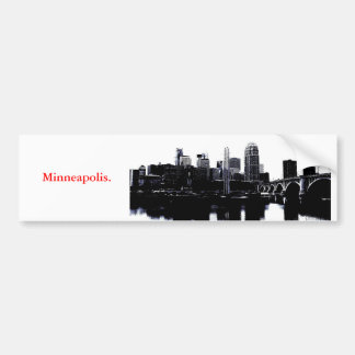 Minneapolis Bumper Sticker
