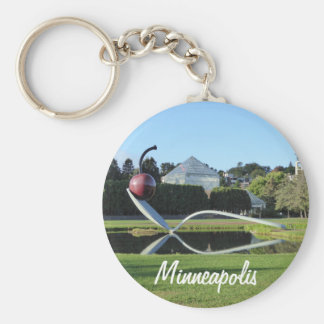 Minneapolis Cherry and Spoonbridge Photo Keychain