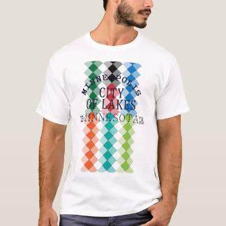 minneapolis city of lakes nice view Design T-Shirt