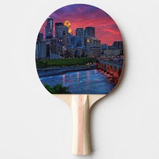 Minneapolis Eye Candy Ping Pong Paddle