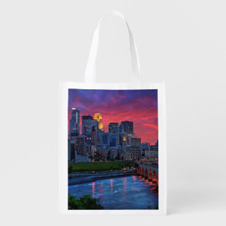 Minneapolis Eye Candy Reusable Grocery Bag