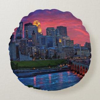 Minneapolis Eye Candy Round Cushion