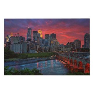 Minneapolis Eye Candy Wood Print