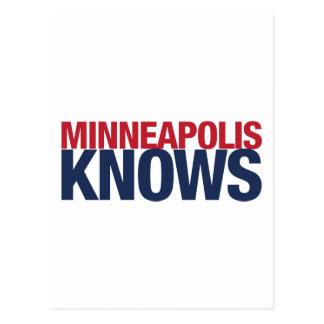 Minneapolis Knows Postcard