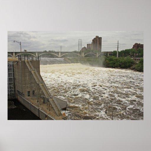 Minneapolis Lock and Dam Posters
