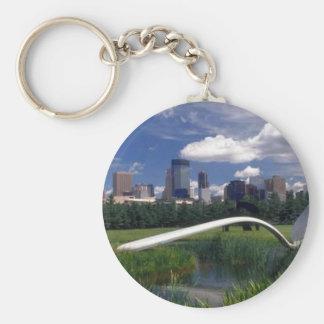 Minneapolis memorabilia key ring