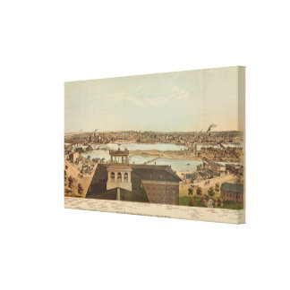 Minneapolis, Minnesota Stretched Canvas Print