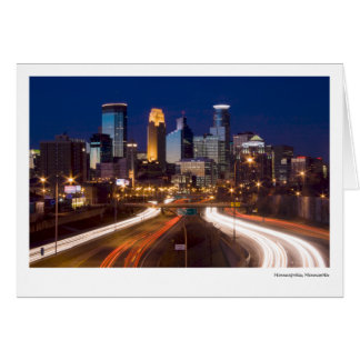 Minneapolis, Minnesota Card