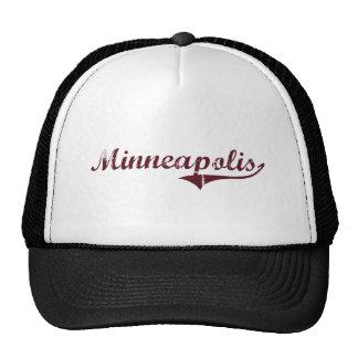 Minneapolis Minnesota Classic Design Mesh Hats