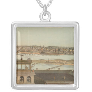 Minneapolis, Minnesota Silver Plated Necklace