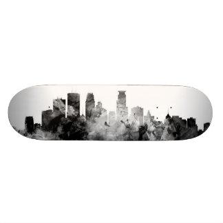 Minneapolis Minnesota Skyline 20 Cm Skateboard Deck