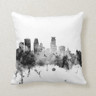 Minneapolis Minnesota Skyline Cushion