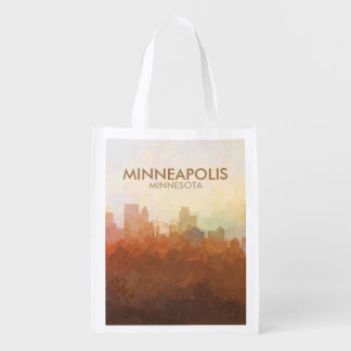 Minneapolis, Minnesota Skyline IN CLOUDS