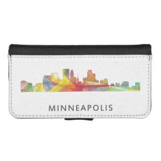 MINNEAPOLIS, MINNESOTA SKYLINE WB1 - iPhone SE/5/5s WALLET CASE
