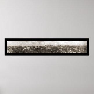 Minneapolis MN City Photo 1911 Print