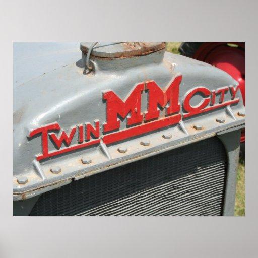 Minneapolis Moline Twin City Print