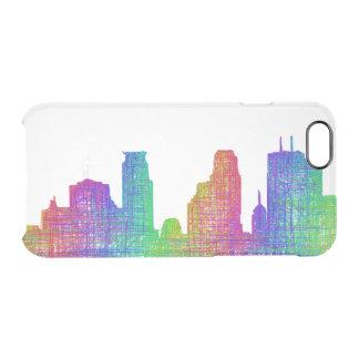 Minneapolis skyline clear iPhone 6/6S case