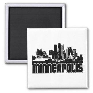 Minneapolis Skyline Magnet