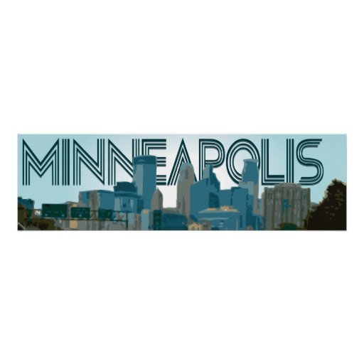 Minneapolis Skyline Posters