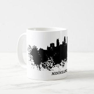 Minneapolis Skyline - Splat Paint Coffee Mug