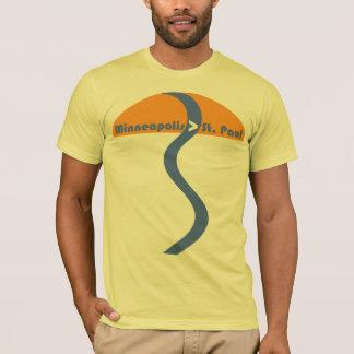 Minneapolis > St. Paul T-Shirt