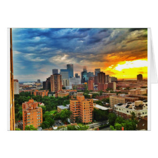 Minneapolis Storm Card