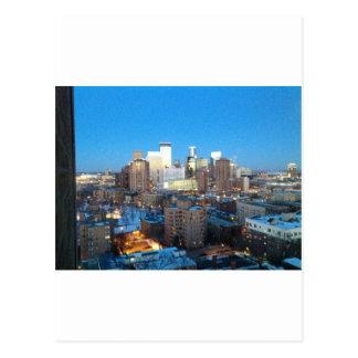 Minneapolis Winter Postcard