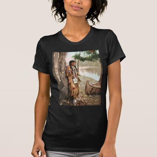 Minnehaha 1897 Native American Hiawatha T-shirts
