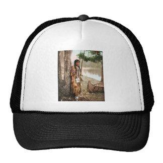 Minnehaha 1897 Native American Hiawatha Vintage Trucker Hat
