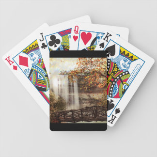 Minnehaha Falls, Minneapolis, Minnesota Circa 1900 Bicycle Playing Cards