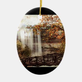Minnehaha Falls, Minneapolis, Minnesota Circa 1900 Christmas Ornament