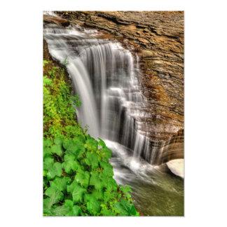 Minnehaha Falls, Watkins Glen, New York Photo Art