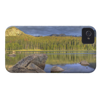 Minneopa Lake catches dramatic morning light in iPhone 4 Case-Mate Cases