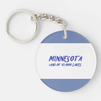 Minnesota 10,000 Lakes Key Ring