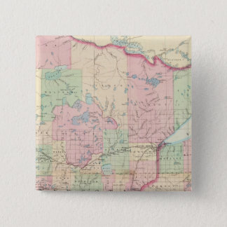 Minnesota 15 Cm Square Badge