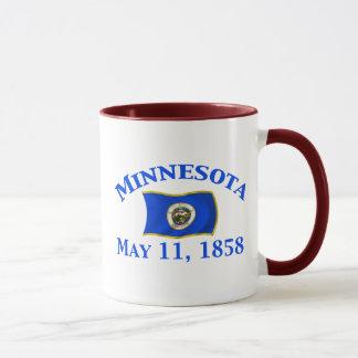 Minnesota 1858 mug