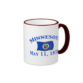 Minnesota 1858 coffee mugs