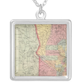 Minnesota 2 silver plated necklace
