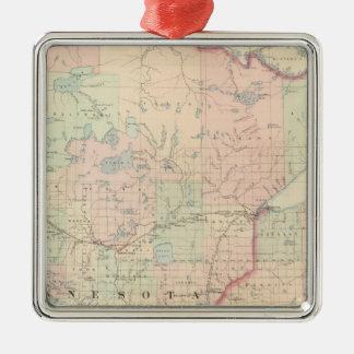 Minnesota 3 christmas ornament