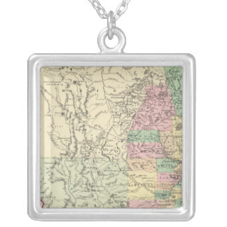 Minnesota 4 silver plated necklace