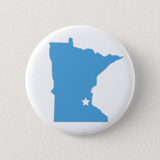 Minnesota! 6 Cm Round Badge