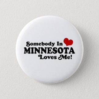 Minnesota 6 Cm Round Badge