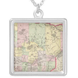 Minnesota 6 silver plated necklace