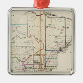 Minnesota 7 christmas ornament