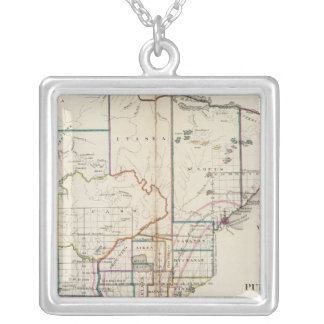 Minnesota 7 silver plated necklace