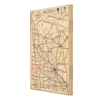 Minnesota 8 canvas print
