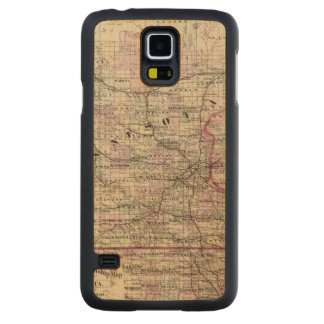Minnesota 9 carved maple galaxy s5 case