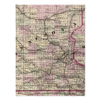 Minnesota 9 postcard