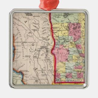 Minnesota, And Dacotah Christmas Ornament