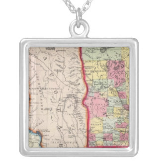 Minnesota, And Dacotah Silver Plated Necklace